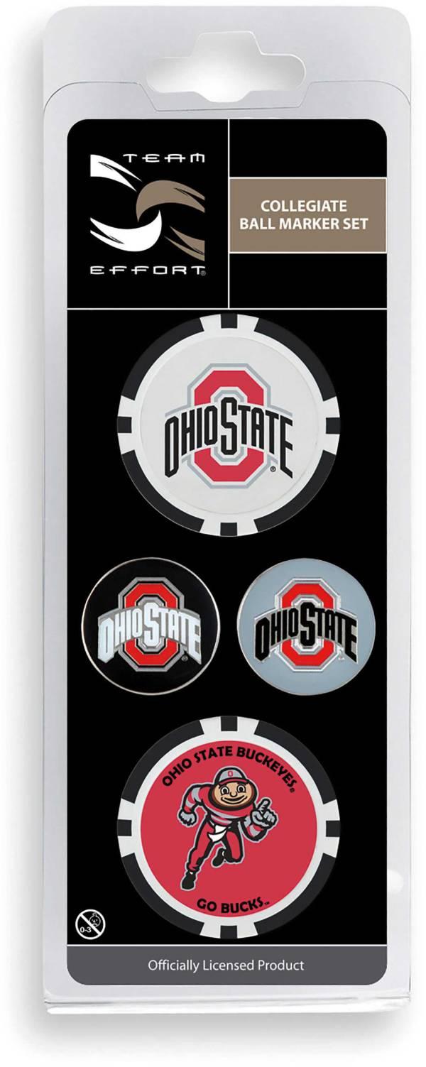 Team Effort Ohio State Buckeyes Ball Marker Set product image