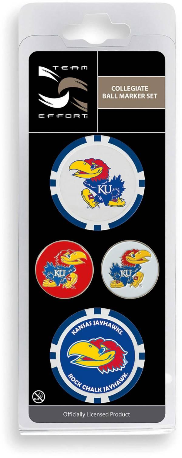 Team Effort Kansas Jayhawks Ball Marker Set product image