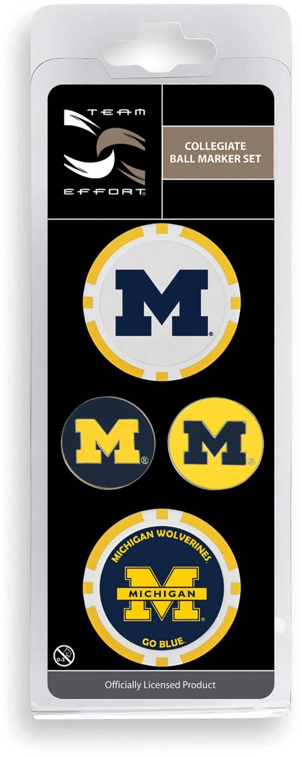 Team Effort Michigan Wolverines Ball Marker Set product image