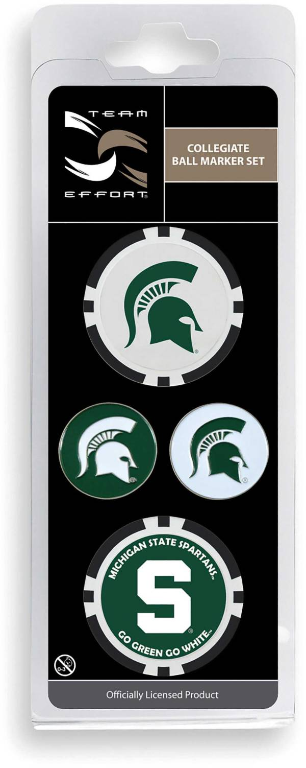 Team Effort Michigan State Spartans Ball Marker Set product image