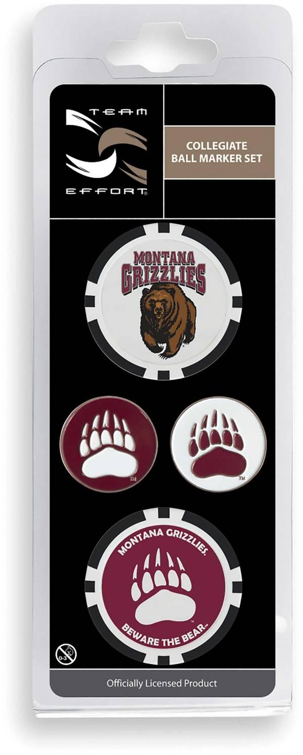 Team Effort Montana Grizzlies Ball Marker Set product image