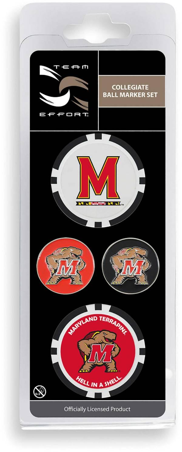 Team Effort Maryland Terrapins Ball Marker Set product image