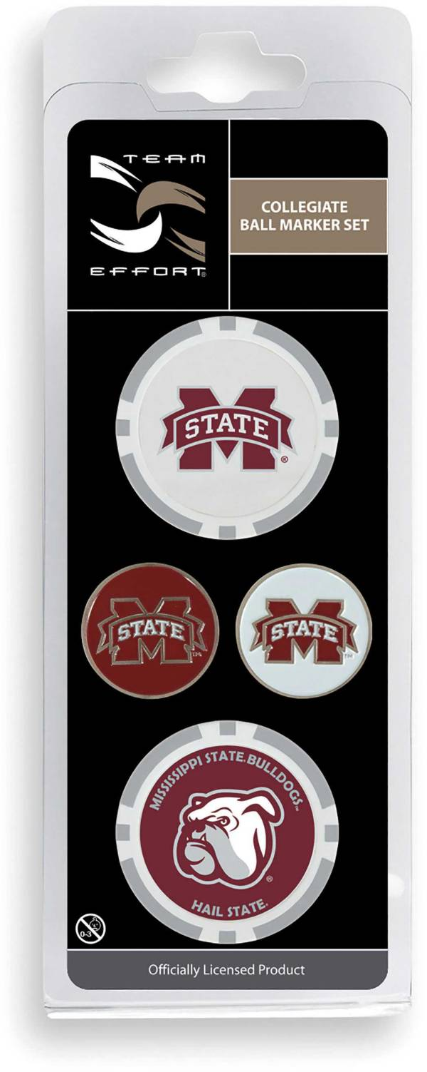 Team Effort Mississippi State Bulldogs Ball Marker Set product image
