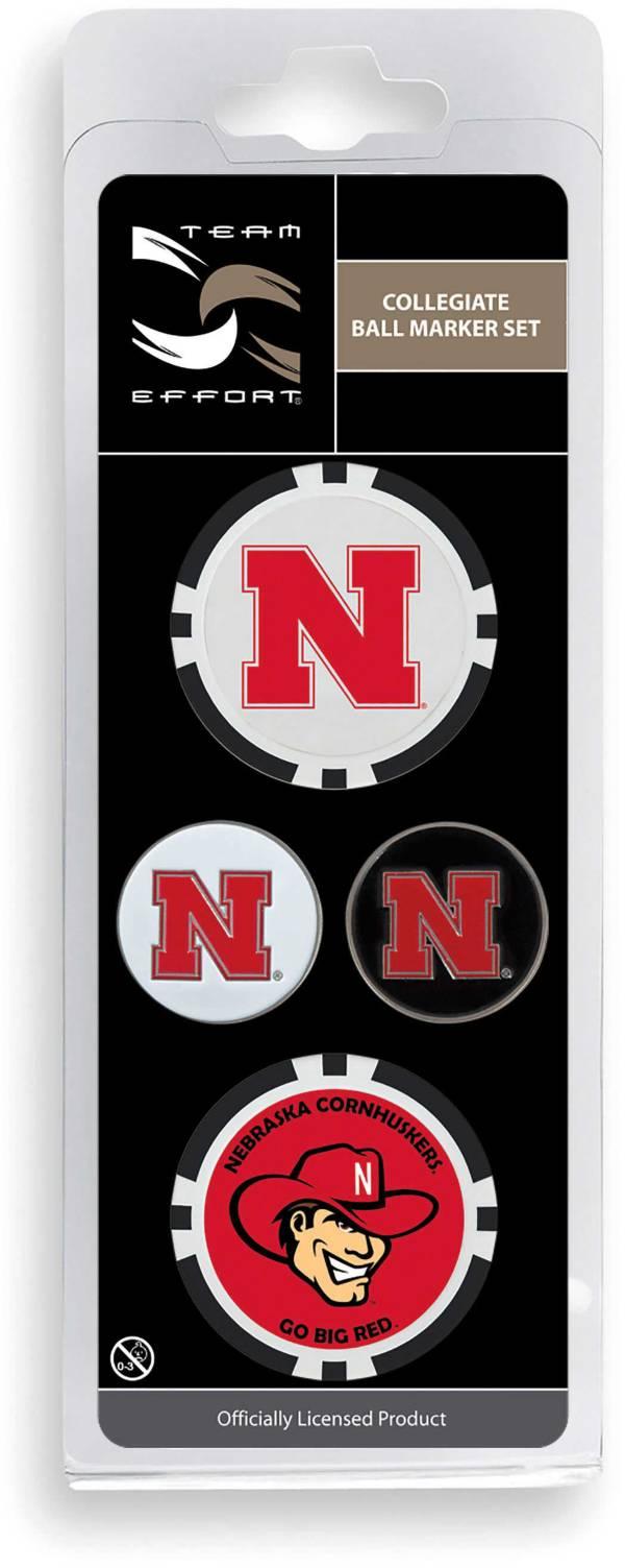Team Effort Nebraska Cornhuskers Ball Marker Set product image