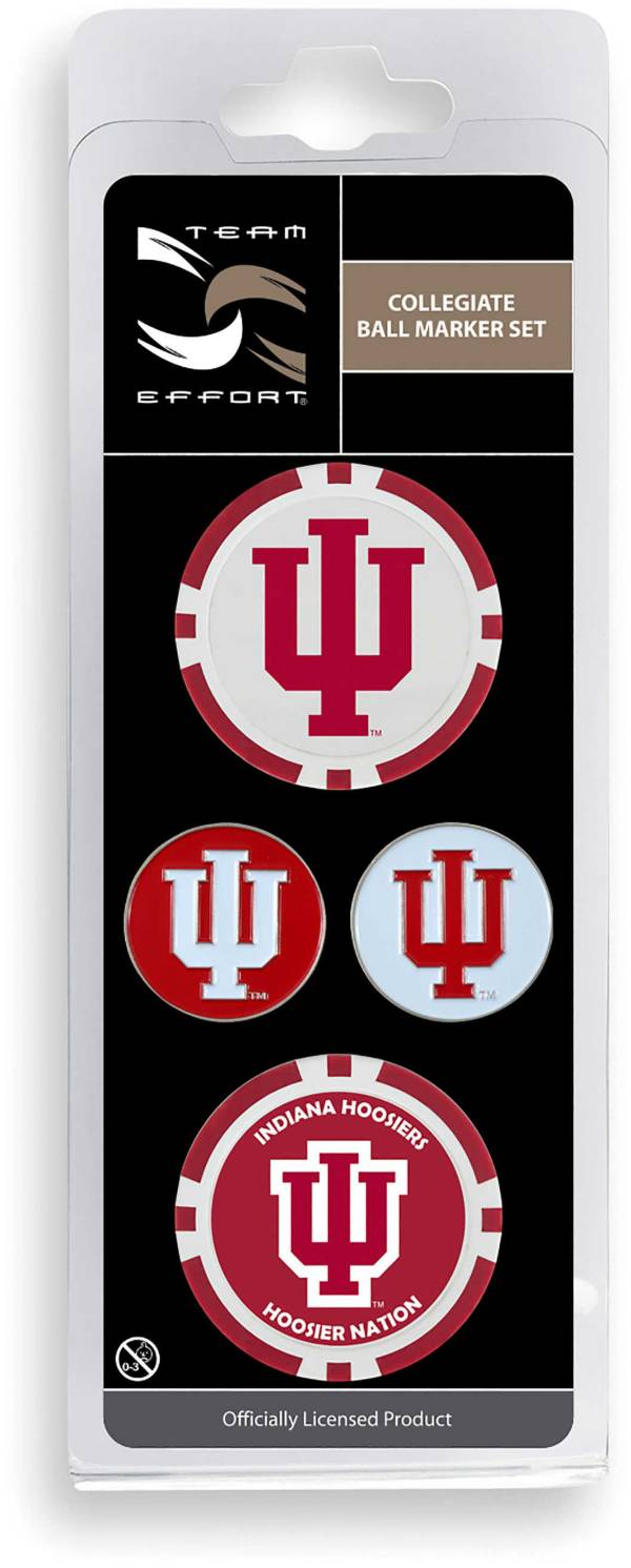 Team Effort Indiana Hoosiers Ball Marker Set product image