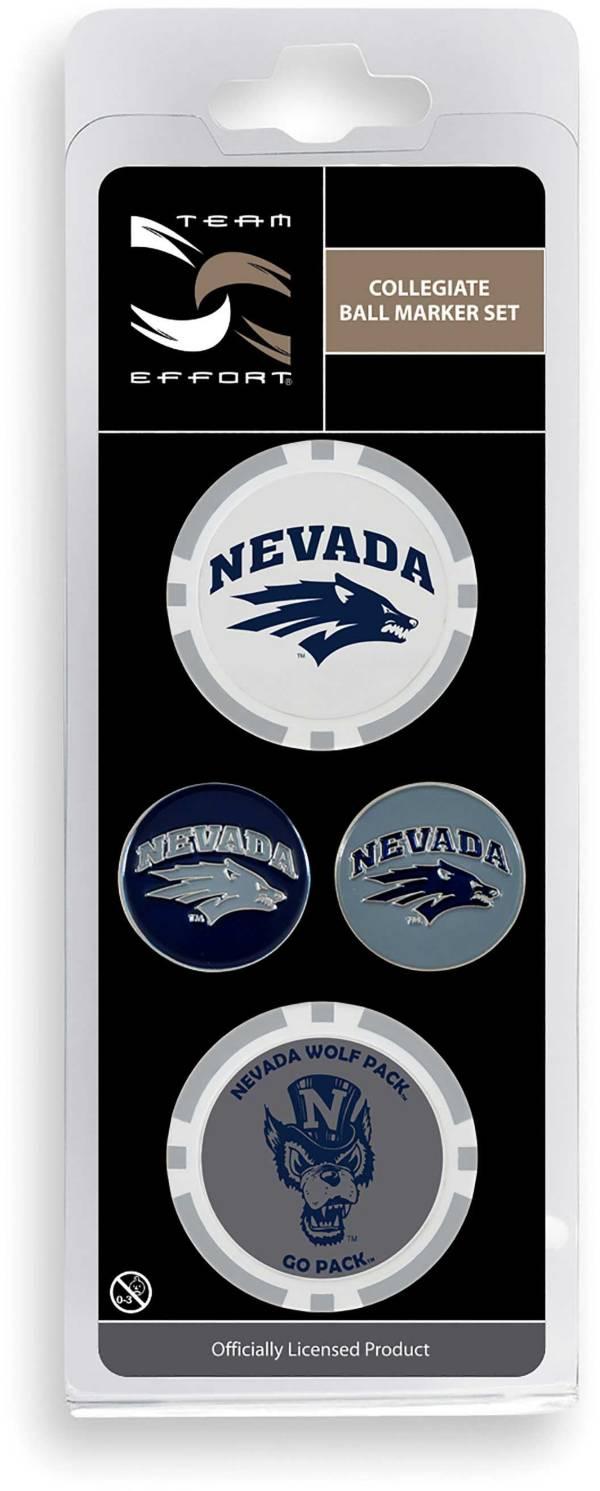 Team Effort Nevada Wolf Pack Ball Marker Set product image