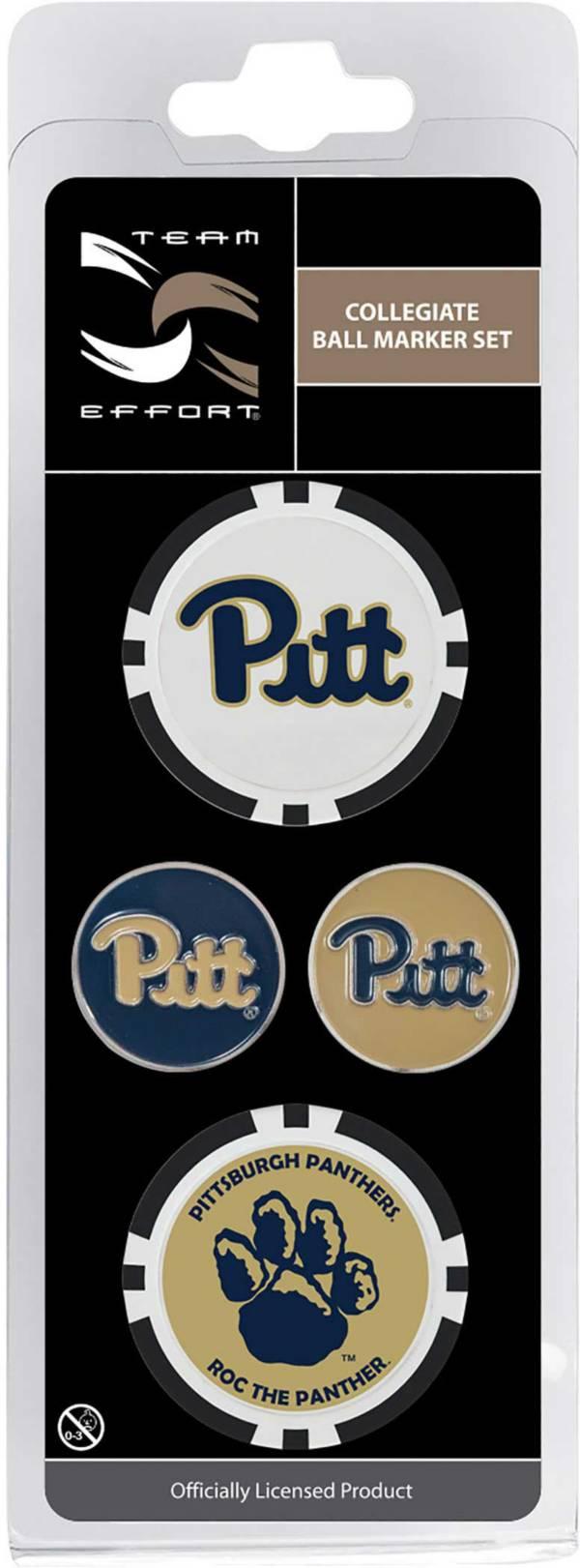 Team Effort Pitt Panthers Ball Marker Set product image