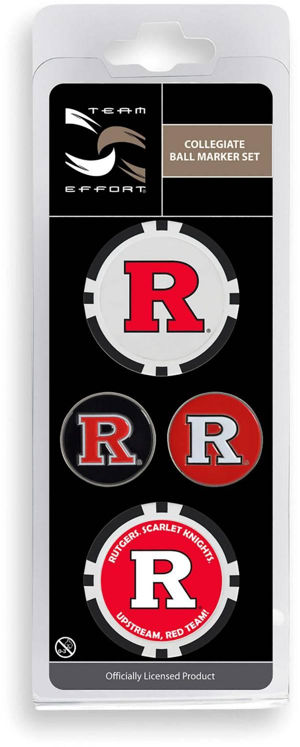 Team Effort Rutgers Scarlet Knights Ball Marker Set product image