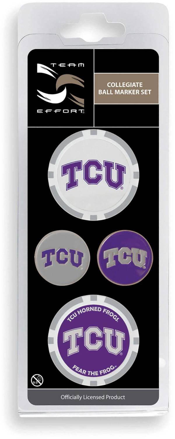 Team Effort TCU Horned Frogs Ball Marker Set product image