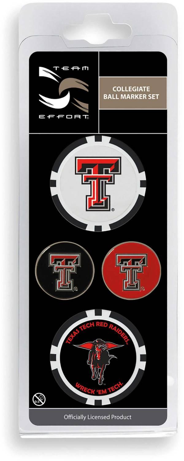 Team Effort Texas Tech Red Raiders Ball Marker Set product image