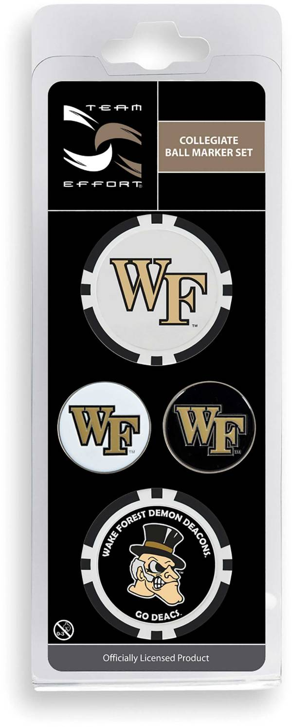 Team Effort Wake Forest Demon Deacons Ball Marker Set product image