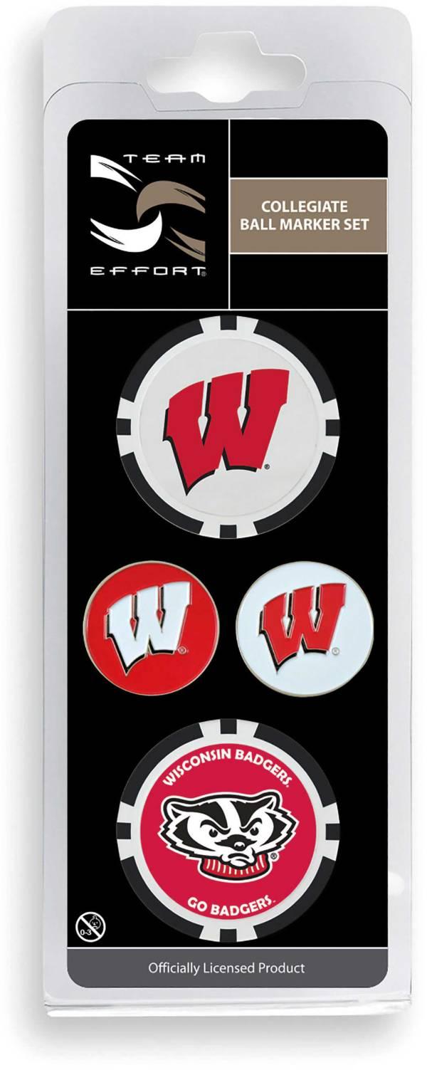 Team Effort Wisconsin Badgers Ball Marker Set product image