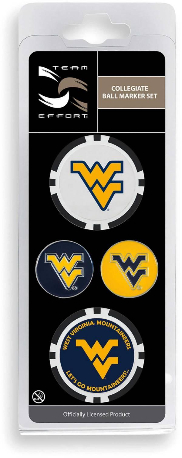 Team Effort West Virginia Mountaineers Ball Marker Set product image