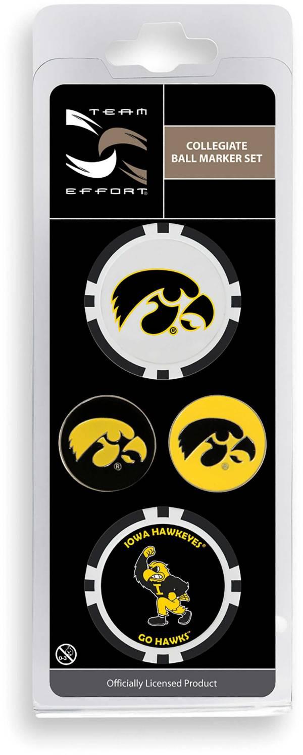 Team Effort Iowa Hawkeyes Ball Marker Set product image