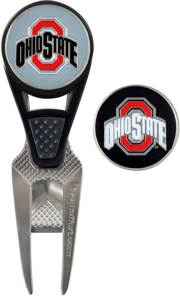 Team Effort Ohio State Buckeyes CVX Divot Tool and Ball Marker Set product image