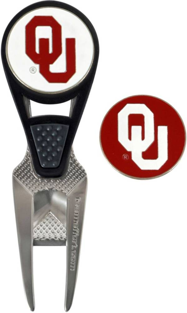 Team Effort Oklahoma Sooners CVX Divot Tool and Ball Marker Set product image