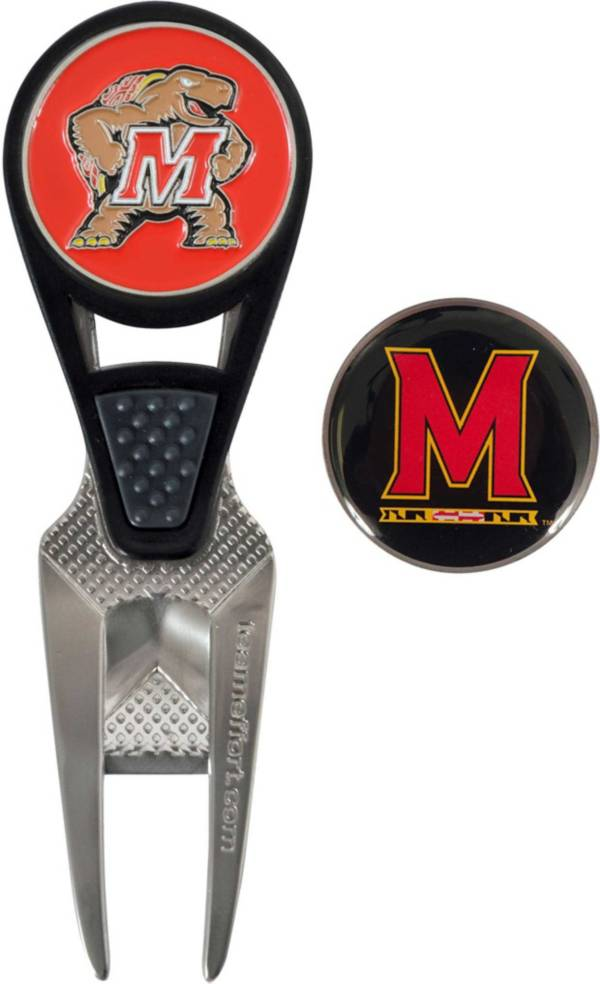 Team Effort Maryland Terrapins CVX Divot Tool and Ball Marker Set product image
