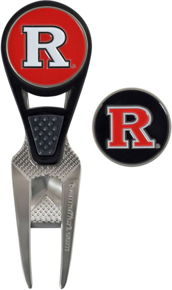 Team Effort Rutgers Scarlet Knights CVX Divot Tool and Ball Marker Set product image
