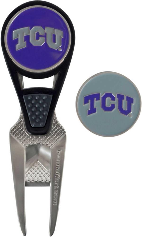 Team Effort TCU Horned Frogs CVX Divot Tool and Ball Marker Set product image