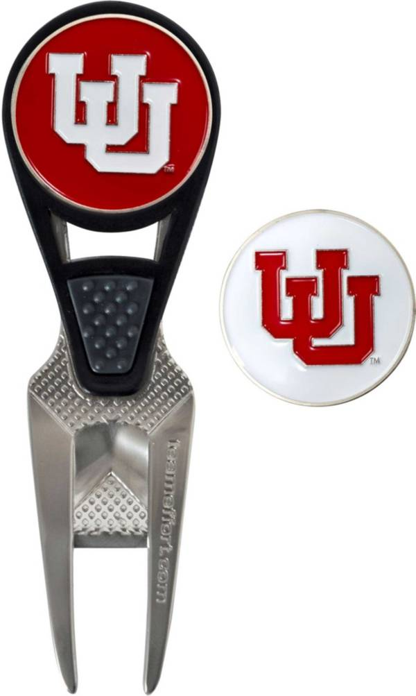 Team Effort Utah Utes CVX Divot Tool and Ball Marker Set product image