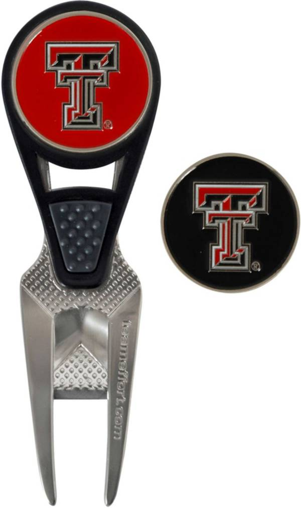 Team Effort Texas Tech Red Raiders CVX Divot Tool and Ball Marker Set product image