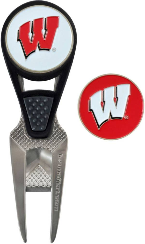 Team Effort Wisconsin Badgers CVX Divot Tool and Ball Marker Set product image