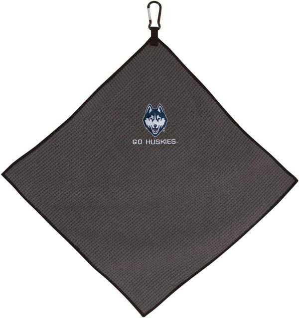 "Team Effort UConn Huskies 15"" x 15"" Microfiber Golf Towel product image"