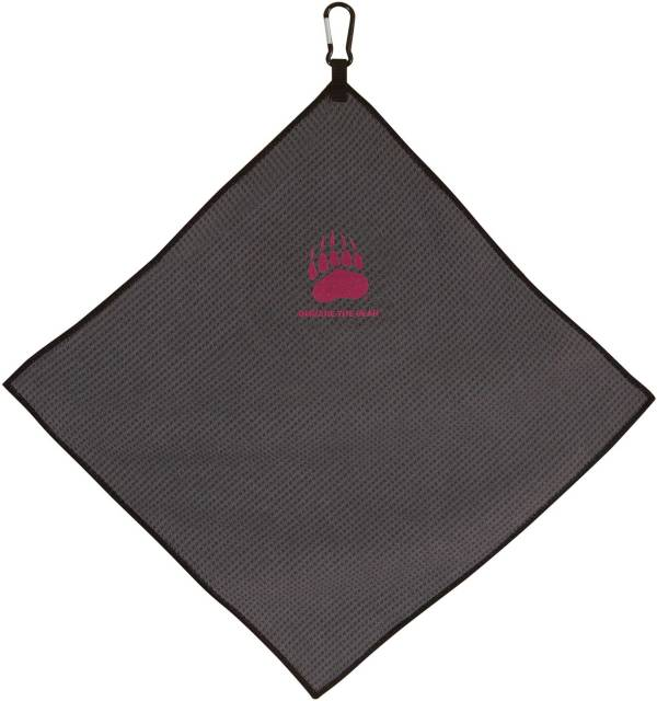 "Team Effort Montana Grizzlies 15"" x 15"" Microfiber Golf Towel product image"