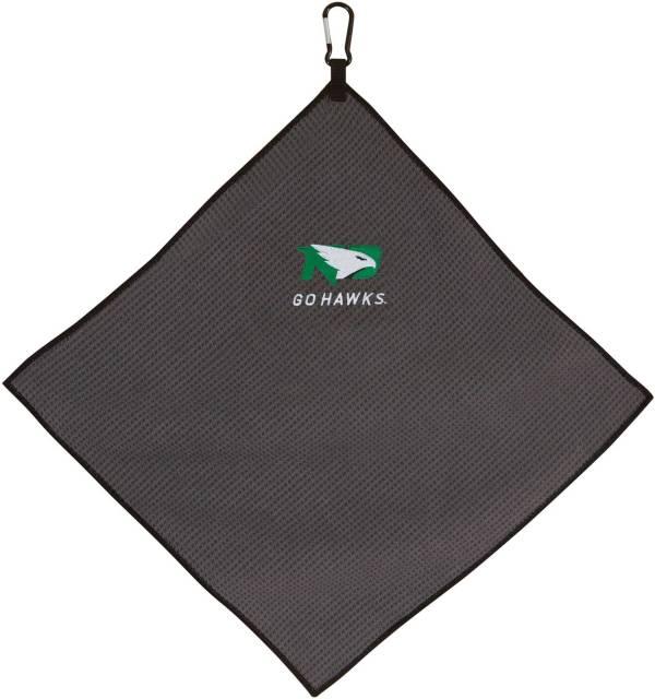 "Team Effort North Dakota Fighting Hawks 15"" x 15"" Microfiber Golf Towel product image"