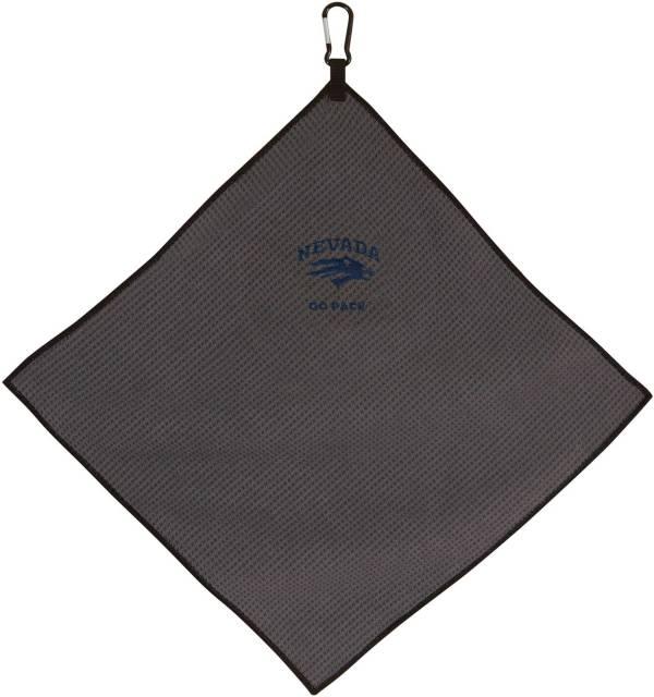 "Team Effort Nevada Wolf Pack 15"" x 15"" Microfiber Golf Towel product image"