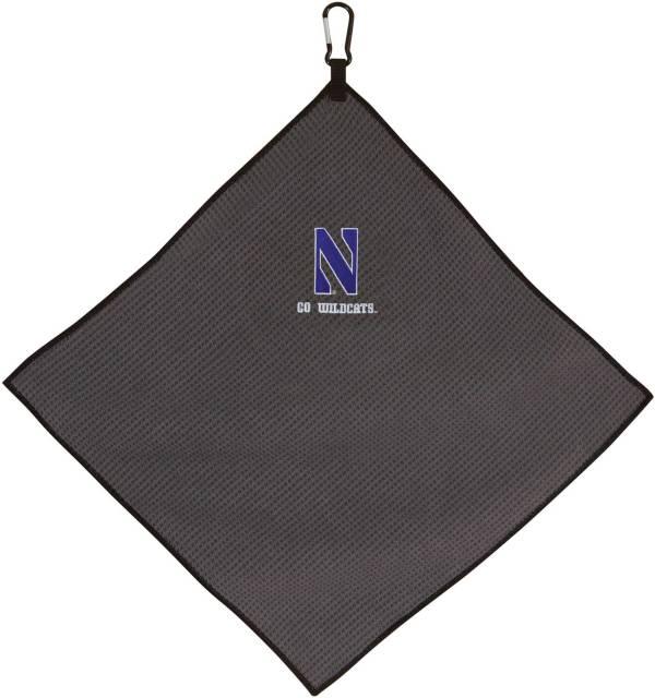 "Team Effort Northwestern Wildcats 15"" x 15"" Microfiber Golf Towel product image"