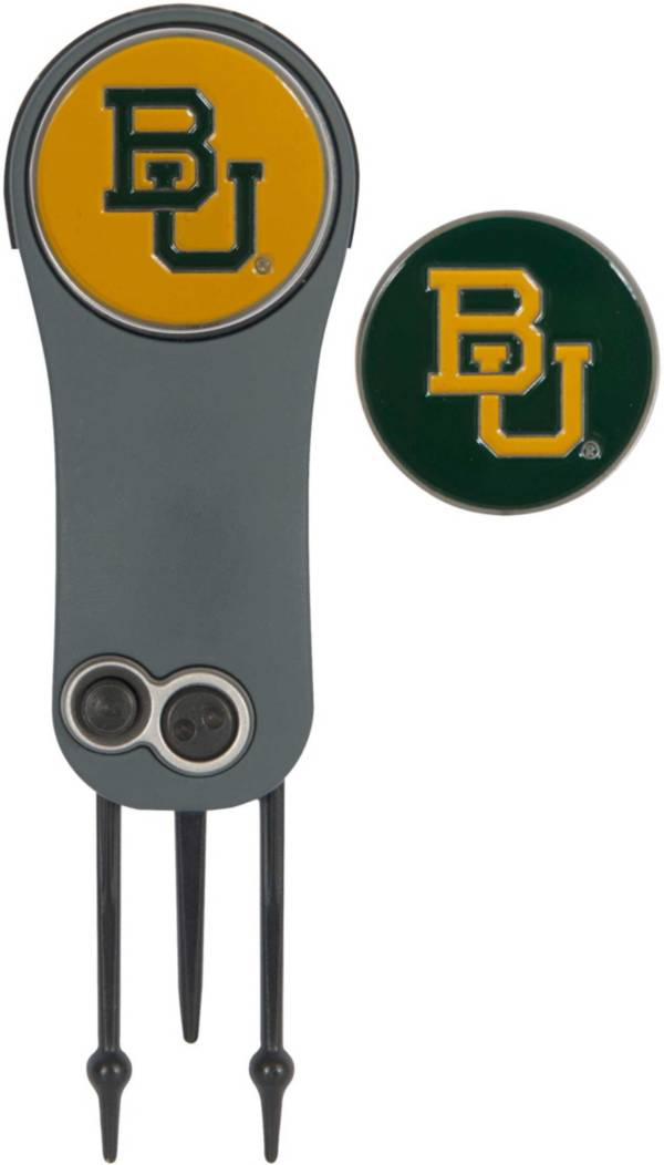 Team Effort Baylor Bears Switchblade Divot Tool and Ball Marker Set product image