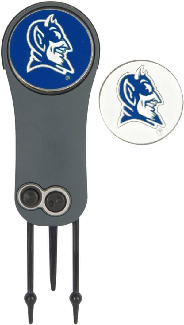 Team Effort Duke Blue Devils Switchblade Divot Tool and Ball Marker Set product image