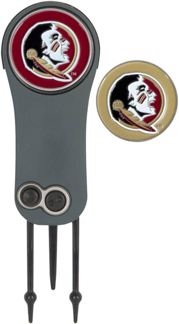 Team Effort Florida State Seminoles Switchblade Divot Tool and Ball Marker Set product image