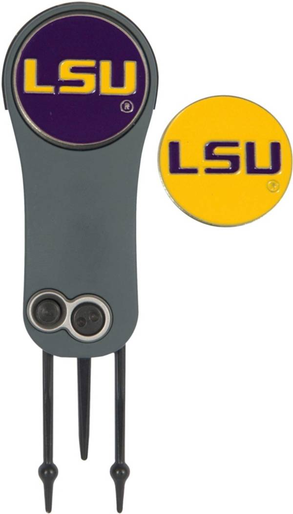 Team Effort LSU Tigers Switchblade Divot Tool and Ball Marker Set product image