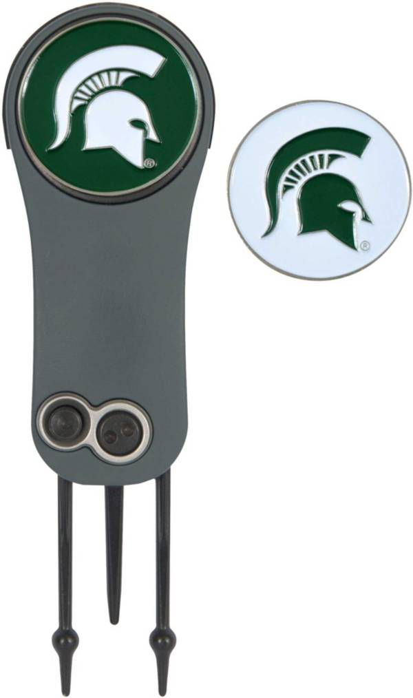 Team Effort Michigan State Spartans Switchblade Divot Tool and Ball Marker Set product image
