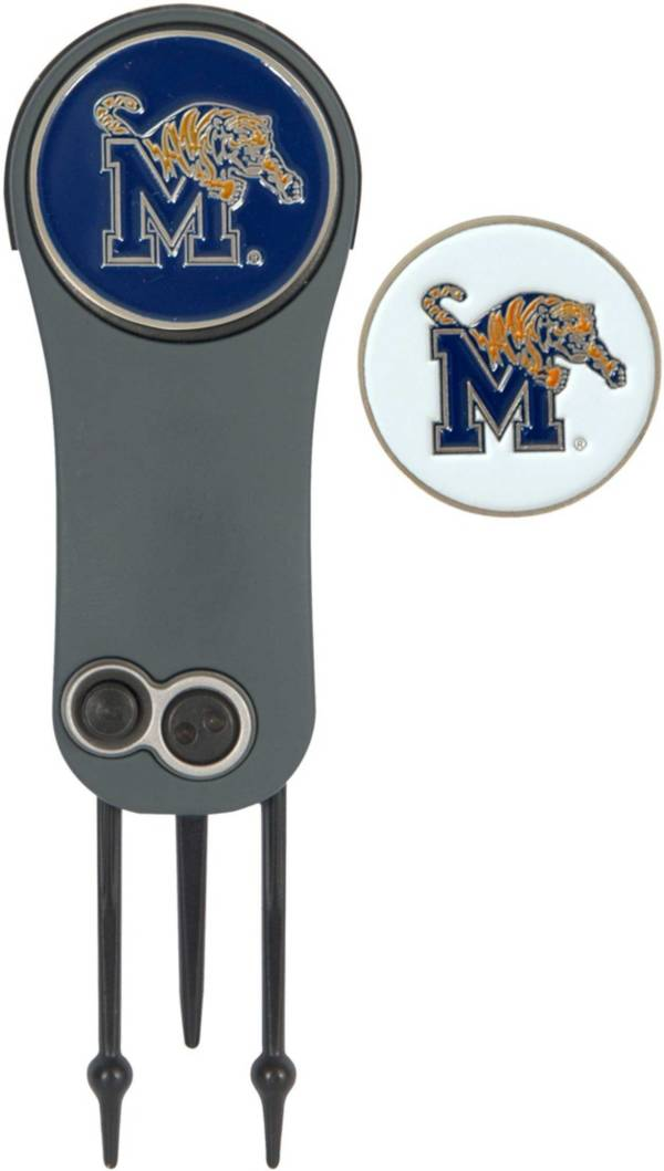 Team Effort Memphis Tigers Switchblade Divot Tool and Ball Marker Set product image