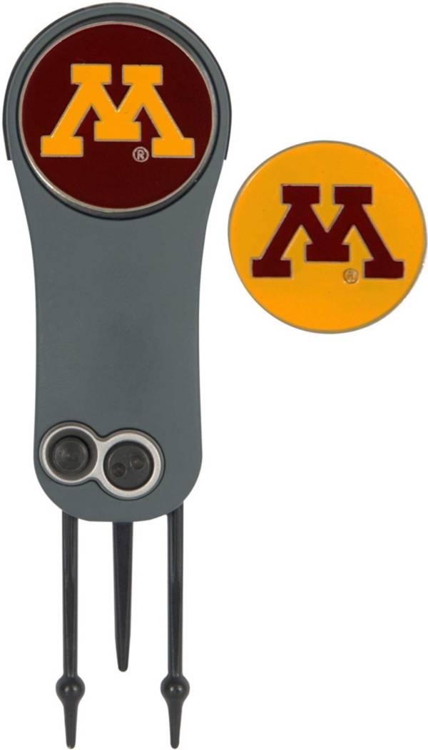 Team Effort Minnesota Golden Gophers Switchblade Divot Tool and Ball Marker Set product image