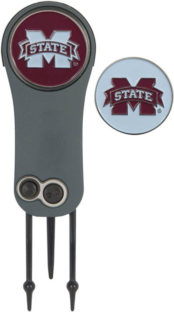 Team Effort Mississippi State Bulldogs Switchblade Divot Tool and Ball Marker Set product image