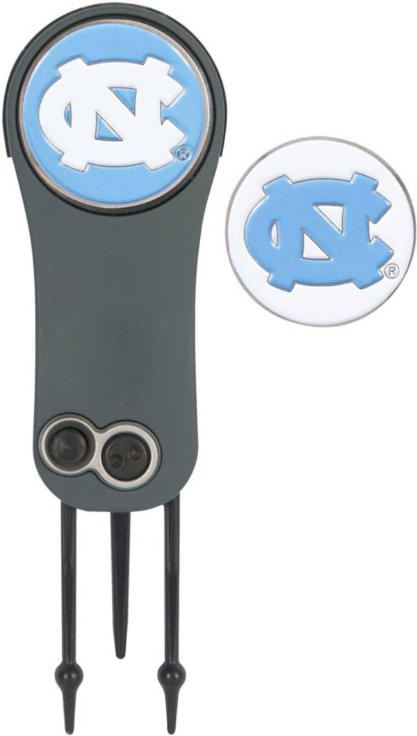 Team Effort North Carolina Tar Heels Switchblade Divot Tool and Ball Marker Set product image