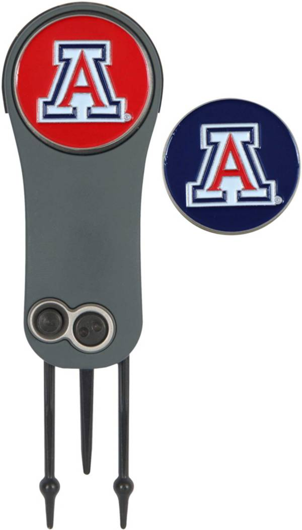 Team Effort Arizona Wildcats Switchblade Divot Tool and Ball Marker Set product image