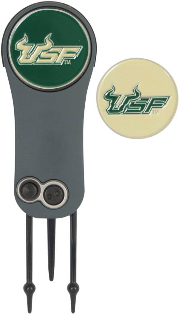 Team Effort South Florida Bulls Switchblade Divot Tool and Ball Marker Set product image