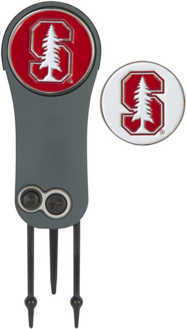 Team Effort Stanford Cardinal Switchblade Divot Tool and Ball Marker Set product image