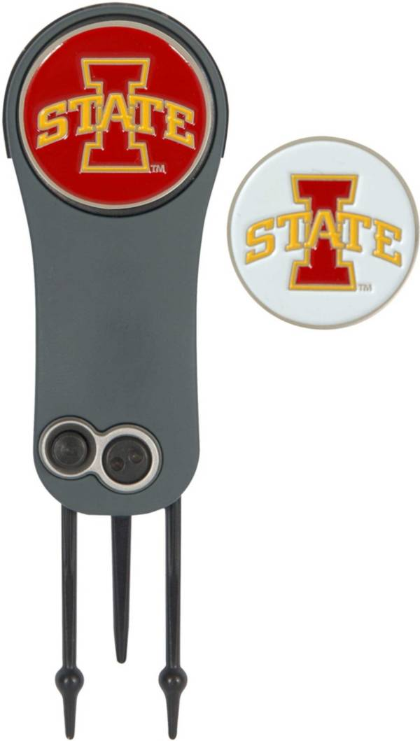 Team Effort Iowa State Cyclones Switchblade Divot Tool and Ball Marker Set product image