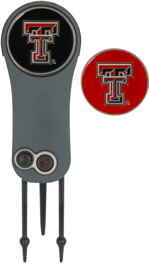 Team Effort Texas Tech Red Raiders Switchblade Divot Tool and Ball Marker Set product image