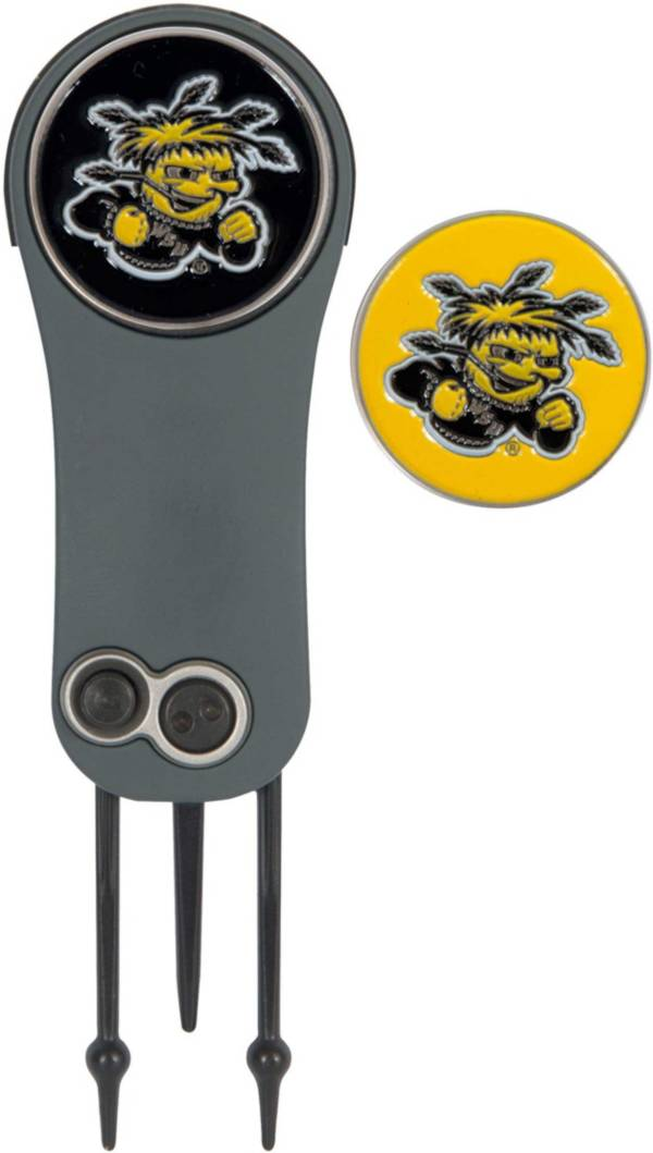 Team Effort Wichita State Shockers Switchblade Divot Tool and Ball Marker Set product image