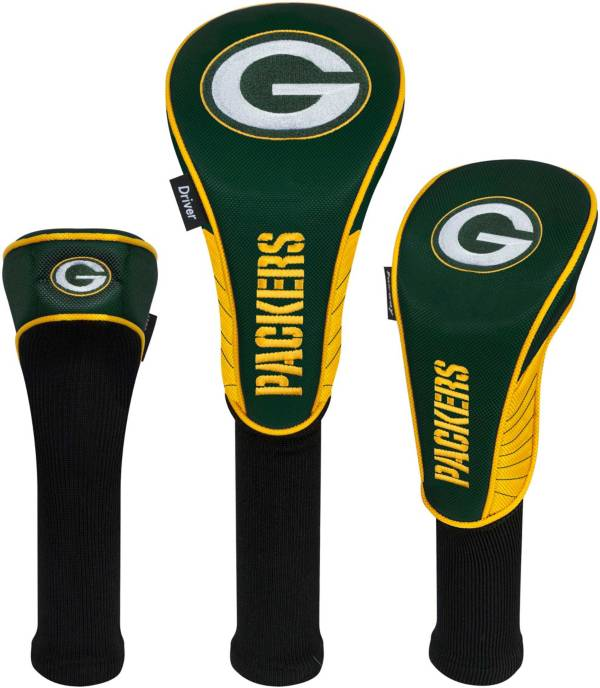 Team Effort Green Bay Packers Headcovers - 3 Pack product image