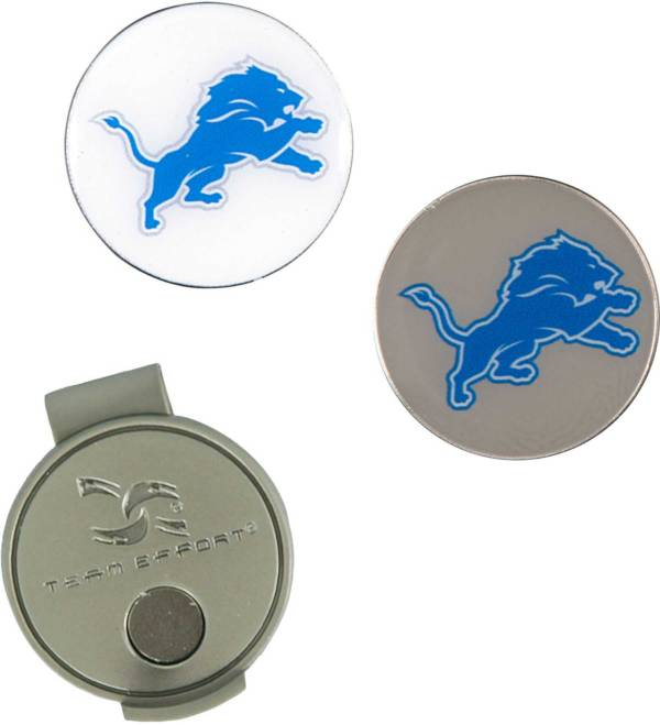 Team Effort Detroit Lions Hat Clip and Ball Markers Set product image