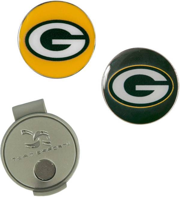 Team Effort Green Bay Packers Hat Clip and Ball Markers Set product image