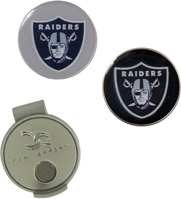 Team Effort Las Vegas Raiders Hat Clip and Ball Markers Set product image